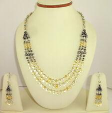 Necklace & Earrings 53 Grams Natural Citrine Gemstone Beaded Beautiful