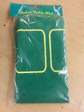 Poker Table Mat-Table Top Cover-Green-New/Sealed Easy Storage