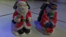 kerzenständer,weihnachten,schneemann,weihnachtsmann,porzellan,neu,nikolaus,schne