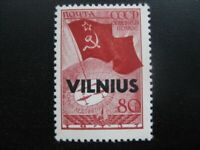 LITHUANIA THIRD REICH OCCUPATION Mi. #17 scarce mint Vilnius stamp! CV $455.00