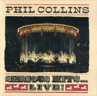 Phil Collins Serious Hits...Live! 15 Track CD Album 1990 Tour Best Of Greatest