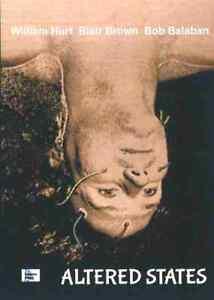 Altered States - 1980 Horror - William Hurt, Blair Brown, Bob Balaban - DVD