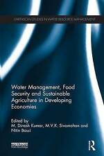 Water Management, Food Security and Sustainable Agriculture in Developing Econom