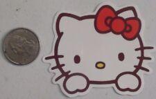 hello kitty sticker cute peeking laptop cell bumper vinyl decal skate skateboard
