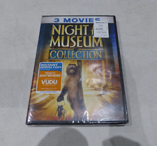 NIGHT AT THE MUSEUM 3 MOVIE COLLECTION DVD SET NEW
