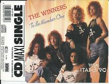 THE WINNERS - To be number one CD SINGLE 3TR Europop 1990 West Germany BELLAPHON
