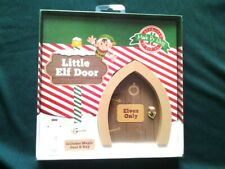 NEW * Cute Little Elf Door With Magic Dust & Key * BNIB