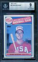 Mark McGwire OLY Rookie Card 1985 Topps #401 BGS 9