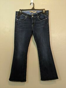Paige Maternity Womens Size 33 Laurel Canyon Side Panels Flare Stretch Jeans