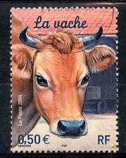 STAMP / TIMBRE FRANCE OBLITERE N° 3664 LA VACHE