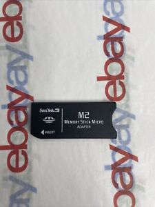 Genuine SanDisk M2 to MEMORY STICK PRO adapter M2 Pro Micro Adapter
