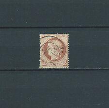 CERES - 1872 YT 51 - 2 c. rouge brun - COTE 15,00 €