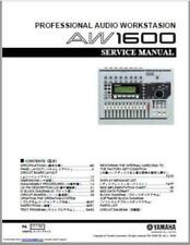 Yamaha AW1600 Service Manual