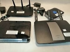 Lot of 4 Routers Various Brands