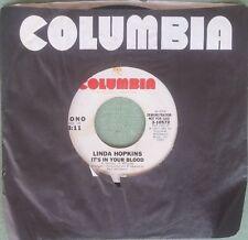 LINDA HOPKINS: It's In Your Blood / Mono 45 (dj) Soul Disco