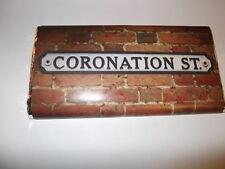 CORONATION STREET 100g MILK / DARK / WHITE CHOCOLATE BAR  GREAT GIFT / PRESENT