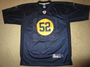 Clay Matthews #52 Green Bay Packers Retro Rewind Reebok NFL Jersey 48 LG