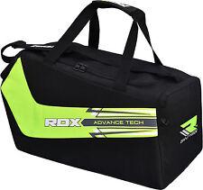 RDX Duffle Gym Bag Carryon Green Black Large Weekend Travel Sports