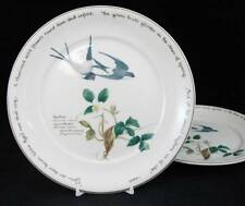 Noritake COUNTRY DIARY of an EDWARDIAN LADY 2 Salad Plates Some Use GREAT VALUE