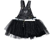 Mädchen Jeanskleid, Latzkleid, Partykleid, Kleid Gr. 86, 92, 98, 104