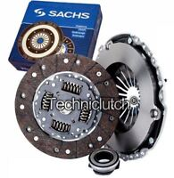 SACHS 3 PART CLUTCH KIT FOR VW GOLF HATCHBACK 2.8 VR6