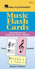 Music Flash Cards Set A Hal Leonard Student Piano Library Educational  000296034