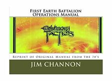 First Earth Battalion Operations Manual: Reprint of Original Ma... Free Shipping