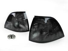 USA DEPO 92-99 BMW E36 3 Series 2D Coupe/Cabrio Smoke Corner Light + Chrome Bulb
