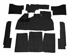 EMPI  VW BUG BEETLE BAJA CARPET KIT 73-77 WITH FOOT REST ,BLACK 3912
