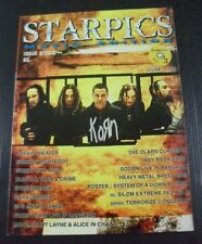 2002 KORN Blink-182 EMINEM SODOM Dream Theater System of a Down VIXEN Book RARE!