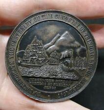 Great Britain RARE Medal Ralph Abercromby Centenary Trinidad 1897 Eimer 1809