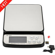 110 Lb X 01 Oz Digital Weighing Amp Transportation Postal Scale Withac Adapter Us