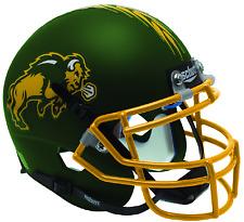 NORTH DAKOTA STATE BISON NCAA Schutt XP Authentic MINI Football Helmet