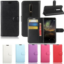 Premium Leather Wallet Case Cover For Nokia 7.1/ 6.1 / 5.1 / 3.1/ 2.1 /1 /3 / 6