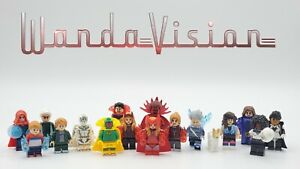 Marvel Super Heroes WandaVision Series 16pcs Custom Set