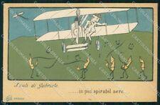 Aviazione Gabriele D'Annunzio I Voli cartolina XF6734
