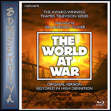 THE WORLD AT WAR - THE COMPLETE SERIES - RESTORED  *BRAND NEW BLURAY**