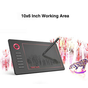 VEIKK Drawing Tablet A15 Graphic Tablet 10x6 inches Digital Drawing Tablet V0P5
