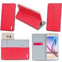 Handy Tasche für MICROMAX Flip Book Case Cover Schutz Hülle Etui Flipcase Wallet