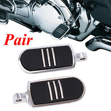 Pair Male Mount Foot Pegs Footrests For Harley Touring Sportster Softail Dyna Us(Fits: Mastiff)
