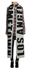 """Brand New Faith Connexion """"Los Angeles is my hometown"""" Scarf $240 Made in France"""