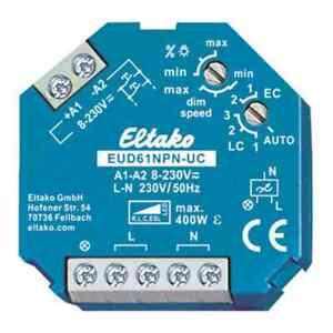 ELTAKO Dimmer 0-400W universal Einbauinstallation Lichtwertspeicher Drehknopf
