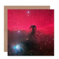 Birthday Hubble Space Blank Greeting Card With Envelope