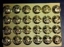"""Staffordshire Regiment 25 mm 1"""" 40L Uniform buttons"""