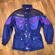 Purple PHENIX Ski Jacket Snow Racing Parka Coat Hood Heavy Duty vtg MENS LARGE
