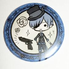 Black Butler Book of the Atlantic Graffart Can Badge Button Ciel Phantomhive F/S