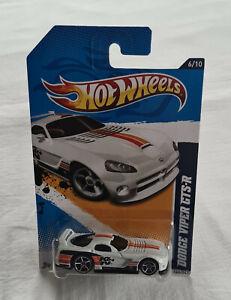 2012 Hot Wheels HW Performance #146 Dodge Viper GTS-R White K&N New