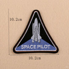 Space Pilot Embroidery Sew Iron on Patch Badge Fabric Clothes Applique Transfer