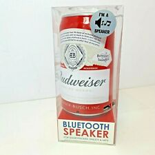 Budweiser Bluetooth Speaker Beer Can Wireless Audio SmartPhone/Tablet/Mp3