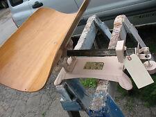 Detecto Pink Baby Scale w/ Wooden Cradle Vint Refurbished Complete